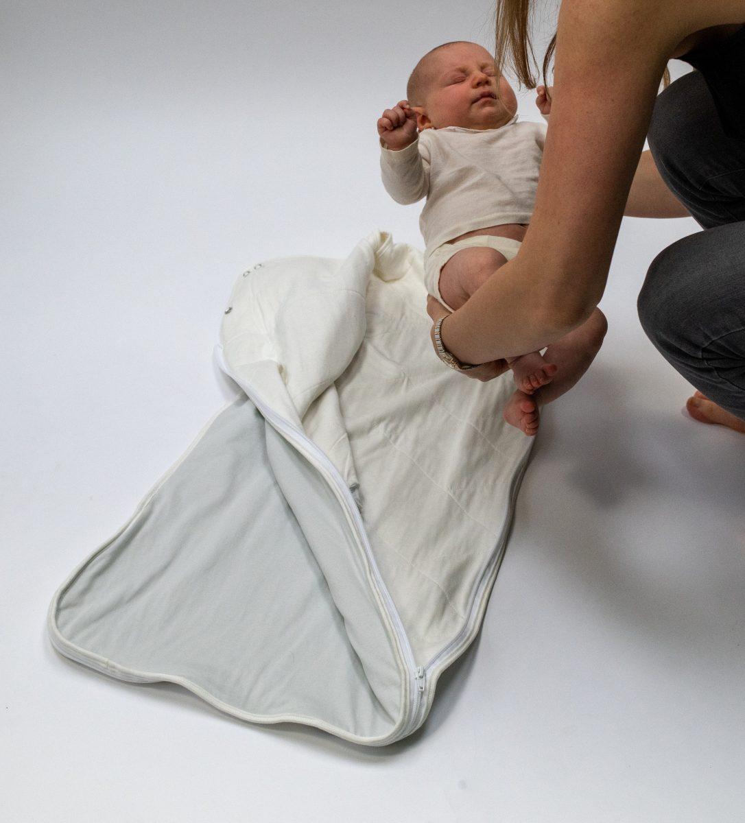 organic baby sleeping bag instructions