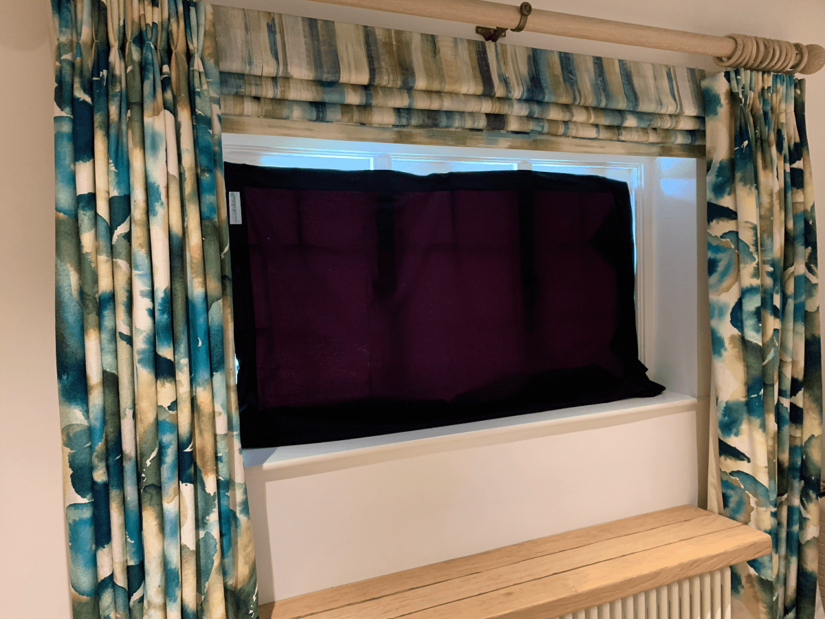 best non toxic baby blackout blind