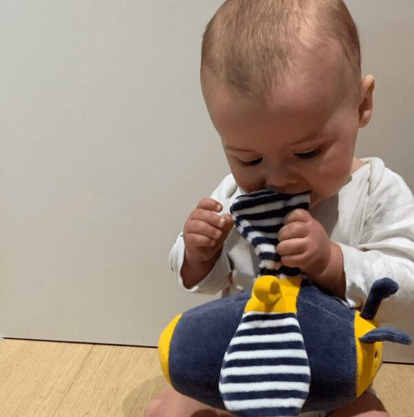 cotton baby sensory toy for the health of babies