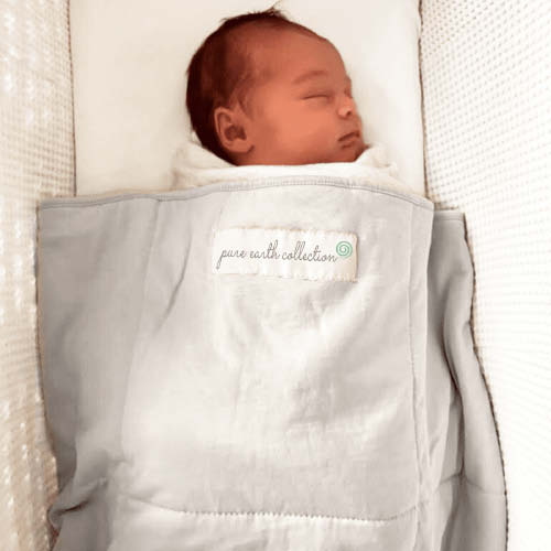 organic baby blanket thermoregulation