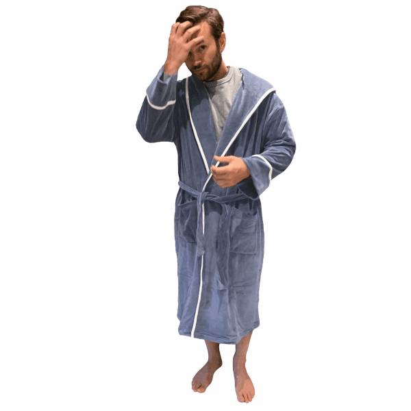 Adult robe for comfort