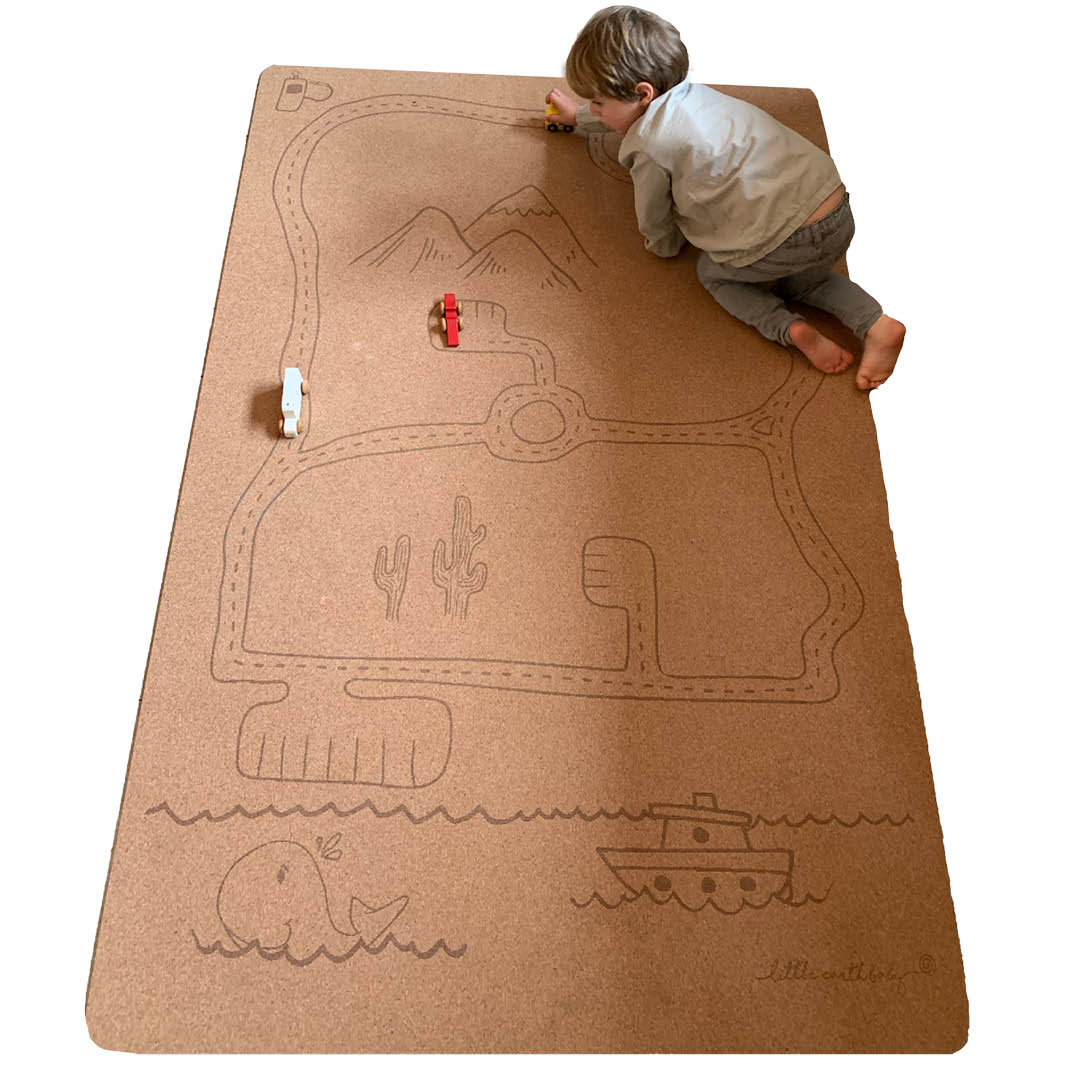 Non toxic play mats for entertainment